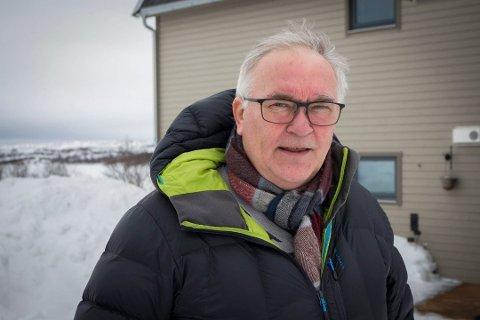 PENSJONISTLEDER: Nils-Edvard Olsen er leder i Kirkenes pensjoinistforening.