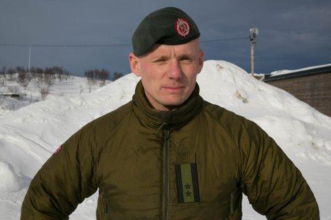 VARSLER: GSV-sjef Jan Marius Nilsen ber folk være oppmerksomme på at det kan smelle litt fra øvingsfeltene på Høybuktmoen på morgenen og formiddagen fredag.