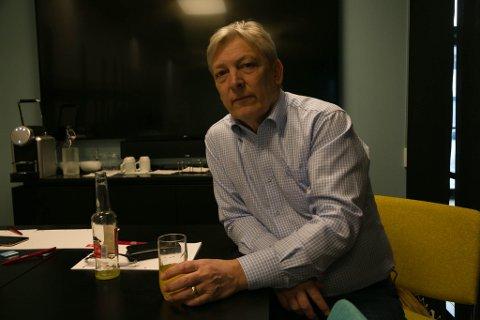 OPPSAGT: Øyvind Sollie ble oppsagt som daglig leder ved snøhotellet, men bestrider oppsigelsen.