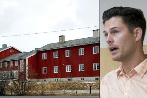 TIL SALGS: Nordnorsk mottakssenter har tidligere drevet mottak i skolebygget i Børselv. Leder Are Skancke håper nå at noe av erfaringen de har bygget opp fra driften, kan brukes i konkurranse om å etablere nytt mottak i Kirkenes.