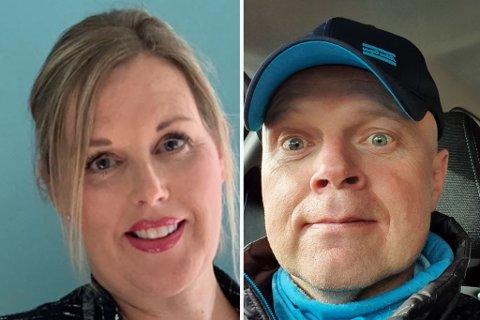 SKREMT: Ann-Kristin Bålerud og Esben Fjellhaug fikk en skremmende opplevelse da hotellet de overnattet på, begynte å brenne.