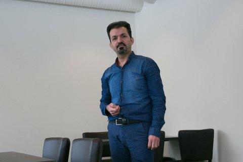 STYRELEDER: Mohammad Mohammadiyan. er styreleder i den nyoppstartede restauranten.