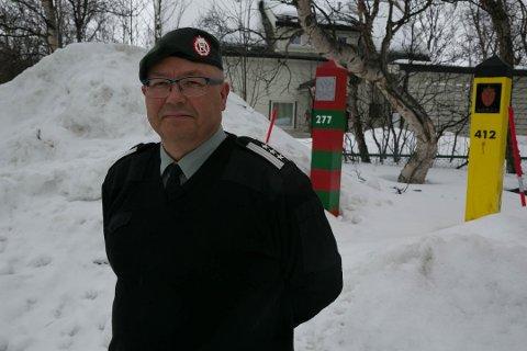 FERDIG: I løpet av året går oberst Roger Jakobsen av som Grensekommissær.