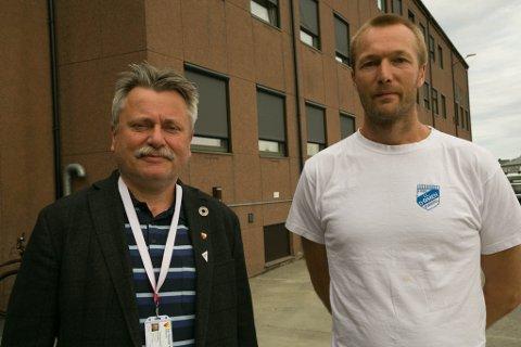 ÅPENHET: Pål K. Gabrielsen (SV) og Marius Møllersen (SV) hadde forslaget om at Sør-Varanger skal bli skatteparadisfri kommune.