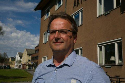 BEREDSKAP: Havnesjef Eivind Gade-Lundlie går fra jobben som havnesjef til beredskapssjef i Sør-Varanger kommune.