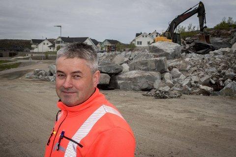 NORMALT: Leder for Varja Entreprenør AS, Tommy Bjørklund, mener det er normalt med svingninger i byggebransjen. Han var likevel ikke forberedt på en halvering av omsetningen i 2019.