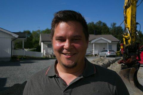 PROSJEKTLEDER: Rune Bakken Larsen er prosjektleder i Signal Bredbånd.