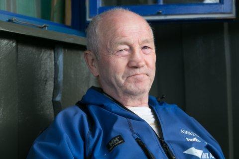 FALT OM: Ulf Børre Rist falt om da han og kona var på hytta.