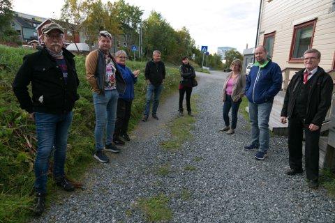 BEBOERNE: Tor Egil Thomassen, Tommy Hansen, Evy Trøite, Jørgen Svendsen, Yvonne Sjølund, Gabrielle Raschpichler, Knut Hegrenes og Knut Mikkola.
