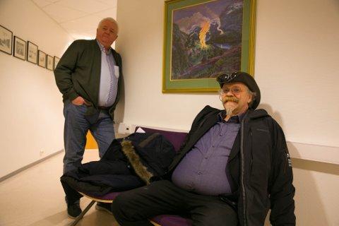 TILTALT OG FRIKJENT: Kurt Pasvikbamsen Wikan ble frikjent etter Frode Bergs vitnemlå om at grensebøyene står opptil ti meter inne på norsk side.