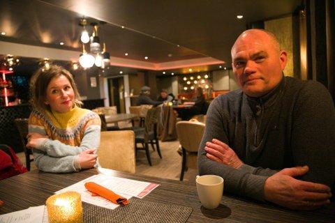 LEDERDUO: Hilde Wara og Bjørn Tharaldsen er klare for å sloss for bedre oppslutning for Arbeiderparti i Sør-Varanger og Finnmark forøvrig.