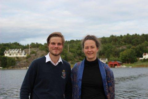 Både Tobias Drevland Lund (20) og Tale Hammerø Ellingvåg (23) fra Skåtøy ble valgt inn i sentralstyret i Rød Ungdom i helga.