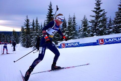 Ida Emilie Herfoss imponerte stort under helgens Norgescup på Geilo. (Foto: Privat)