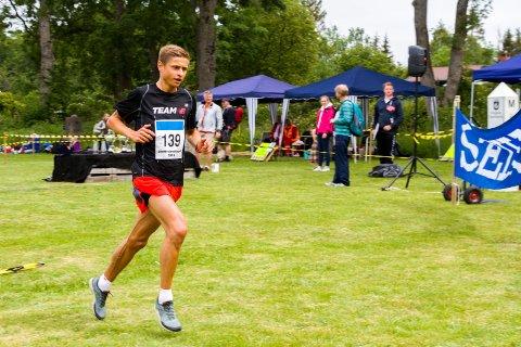 Andreas Grøgaard gjorde en knallsterk maraton i Rotterdam. Her fra Jomfrulandsløpet i 2015.