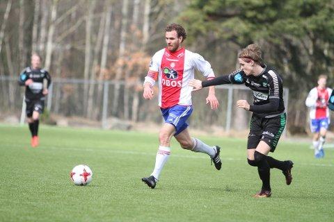 SEIER: Kaptein Stian Sortevik ledet KFUM/Oslo til en etterlengtet triumf da Hønefoss ble banket 4-1 på KFUM Arena.
