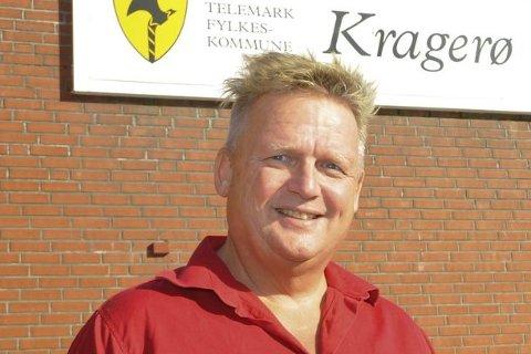 NEI: Rektor Kai Magne Bråthen ønsker ikke flytting av 10. klasse.