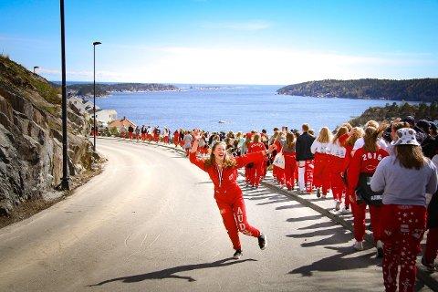 Kristenrussen har inntatt Kragerø.