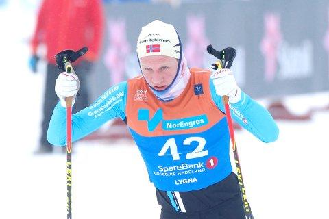 TALENT: Som ett av Telemarks største langrennstalenter har Even Kristoffersen fra Kragerø blitt tildelt et toppidrettsstipent fra fylkeskommunen. Bildet er tatt under NM sist vinter.