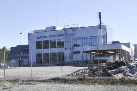 UTSLIPP: Vistin Pharmas fabrikk på Fikkjebakke.