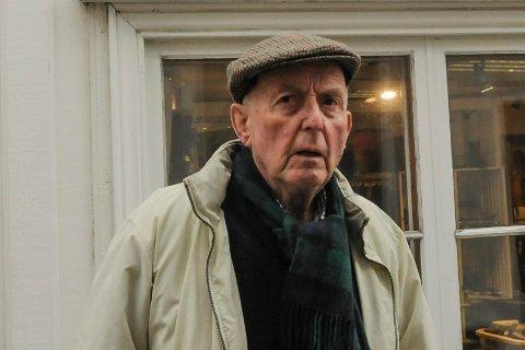 Ulf Hamran i P. A. Heuchsgate februar 2015