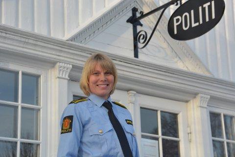 Etterforskingsleder i Sørøst politidistrikt, Liv Berit Nesland ved Kragerø politistasjon.