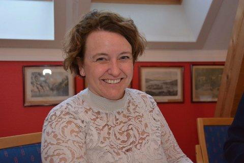 Kommunalsjef Torill Sandberg er naturlig nok fornøyd med undersøkelsen.