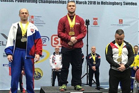 STERKEST: Jøran Langset fra Sannidal kunne ta steget øverst på pallen under europamesterskapet i Sverige. (Foto: Arild Kolshus, NSF)