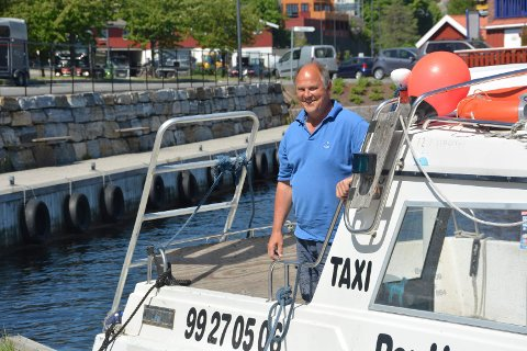 Mister ambulanseoppdrag: Per Haudt er en av tre taxibåteiere som har mistet kontrakten med Sykehuset Telemark om ambulansekjøring i Kragerø skjærgården fra 1. juni.