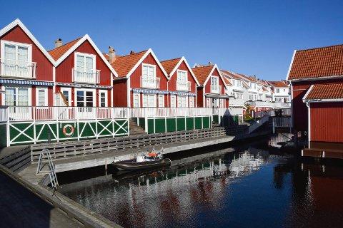 Hytteeierne på Haslumkilen brygge er blant dem som må bidra til kommunekassa i Kragerø gjennom eiendomsskatten. (Arkivfoto: Per Eckholdt)