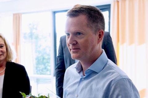 NY JOBB: Preben Hjallum skal blant annet jobbe med samarbeidprosjekter mellom helsebedrifter og Universitetet i Sørøst-Norge.