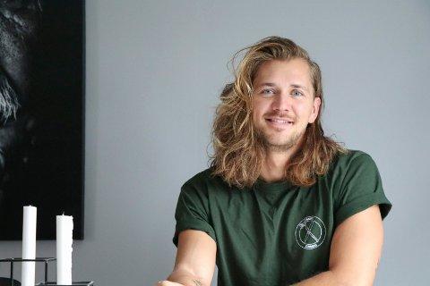 HJEMME IGJEN: Haugesunder Leif Kristian Tindeland (27) er tilbake i hverdagen etter Farmen innspilling.