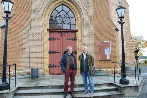 Stort program: Olav Drevland og Tore Trondsen lover stort program under kirkeuka.