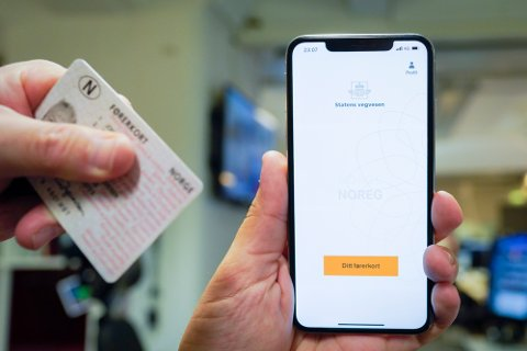Nå får du førerkortet ditt som egen app fra Statens Vegvesen enten du er på iPhone eller Android-telefon. Appen kan kun brukes som gyldig legitimasjon ved evt trafikkontroll.