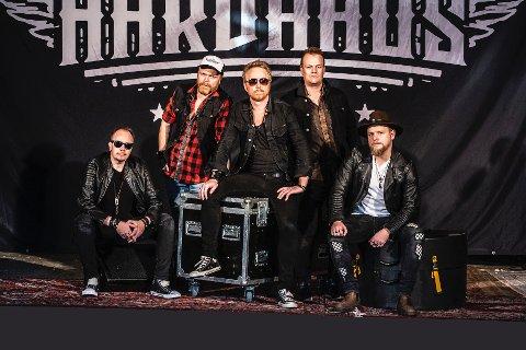 """NY SINGEL: Hardhaus slipper sin nye singel """"Mirakelmannen"""" fredag 25. oktober. Bandet består at Vidar Heldal, Erik Damberg, Erik Norheim, Jonas Myklebust Lima og Endre Christiansen."""
