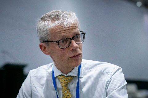 NY SKANDALE: Skattedirektør Hans Christian Holte beklager. Foto: Heiko Junge (NTB scanpix)