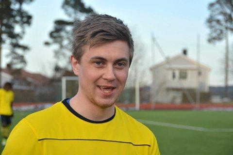 FEM SCORINGER: Thomas Kalmar Rønning scoret fem mål da Kragerø knuste Seljord på bortebane med utrolige 13-3.