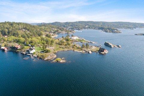 - Sauøya ligger i øvre prissjikt, sier eiendomsmegler Ronny Jørstad.