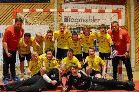 321ae01f Gull: Kragerøs gutter 12 år gikk helt til topp finalen i Region Sør Cup i