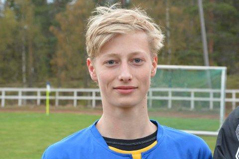 SCORET: Tomas Stenger Fostveit scoret en gang da Kroken vant 4-0 over Seljord 2.