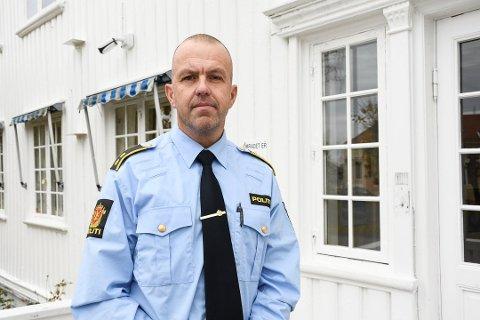Politioverbetjent Terje Sandik. (Arkivfoto: Jeanette Brubakken)