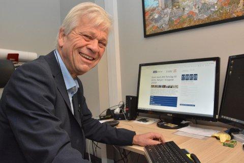 MANGE ILDSJELER: – Det er mange ildsjeler i hele Kragerø, kom med forslag, oppfordrer banksjef i Skagerrak sparebank, Jon Guste-Pedersen.
