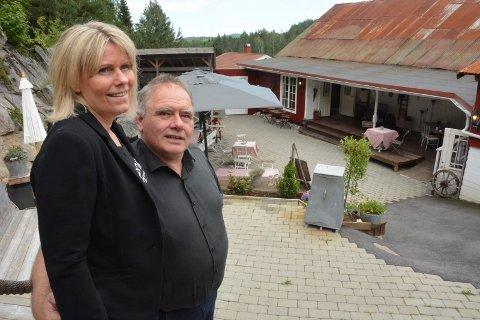 SOLGT: Miljøgården - livsverket til Torhild og Erik Hansen er solgt til et par fra Drammen som ønsker å videreutvikle det populære stedet videre.