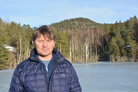 KANDIDAT: Andre Ekeberg Nilsen er leder av Kragerø turlag.
