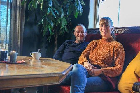 Leonie og ektemannen Andres Parades Sanchez overtok driften av Bankplassen i september i fjor.