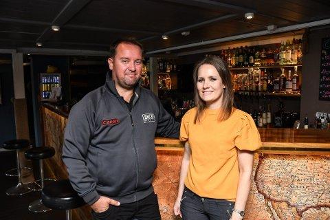 Kristin og Kay Myrstrand har meldt oppbud for selskapet Galeien AS.