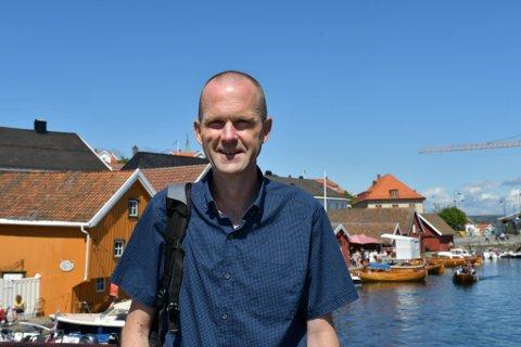 ENIGHET: Hovedutvalgsleder Lars-Erik Vaale fikk gjennomslag for sitt parkeringsforslag.