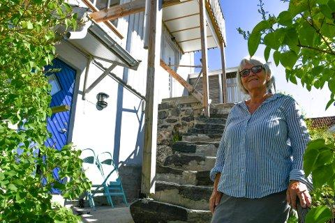 UTLEIER: Elisabeth Lundgren leier ut leiligheten sin i sommer på Airbnb.