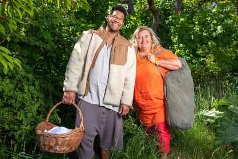UTFORDRERE: Markus Bailey og Hilde Skovdahl er tilbake på TV-skjermen i «Farmen kjendis». Foto: TV 2