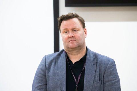 Assisterende helsedirektør Espen Rostrup Nakstad under pressekonferanse hos Helsedirektoratet i forbindelse med at den britiske virusvarianten er påvist i Nordre Follo. Foto: Berit Roald / NTB Foto: (NTB scanpix)