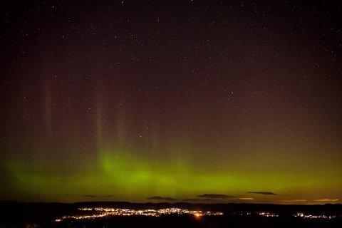 Dette vakre bildet ble knipset i Kragerø mandag kveld